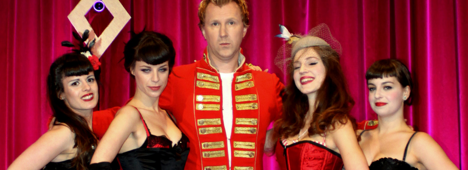 Jason Byrne and Dancers