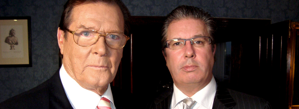 Gerry and Roger Moore